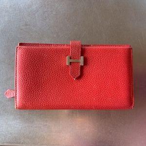 Vintage Hermes Bearn Bifold Wallet